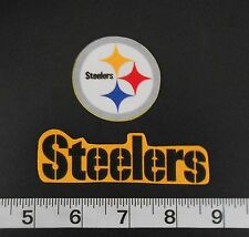 FREE Ship NFL Pittsburgh Steelers Iron On FABRIC Applique Patch Logo DIY Craft