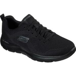 Skechers Mens Summits Brisbane WIDE Fit Breathable Slip On Trainers Shoes 8-13