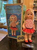 VTG CHATTY CATHY SINGING WHISPERING TALKING 1969 W/BOX & ORIG DRESS