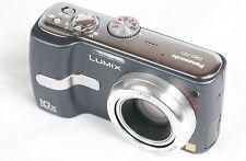 Panasonic LUMIX DMC-TZ1 5.0 MP Digital Camera - Blue