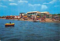 Cartolina Chiatona Taranto spiaggia animata 1983