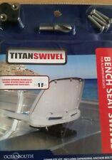 Boat seat swivels
