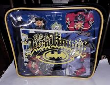 NEW Batman The Dark Knight School Rectangle Lunch Bag/contents Retro DC WB C2005