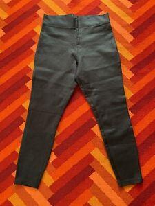 Next Ponte Leggings - size 14, black coated