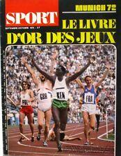 Sport - Le Livre d'or des Jeux - Munich 72 - Viren - Heide -