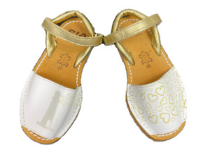 RIA MENORCA   Girl's Kids Leather Sandals Shoes Like New   Size EUR 30 (AUS 11)