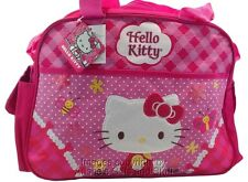 Sanrio Hello Kitty Crossbody Shoulder Diaper Bag Pink