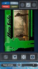 Topps Star Wars Card Trader Green History Of Han Solo General Leia Award 9cc