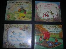 4 MEDICI Childrens Books PIP SQUEAK,TOM TIT,FLIP FLOP'S SECRET,TOM MAGIC RAINBOW