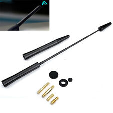 Adjustable Black Universal Carbon Fiber Screw Aluminum Car Radio Aerial Antenna