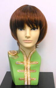 New Party  Mod-Beatles-Wig - Blonde, Brown, Chestnut Costume