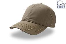 ATLANTIS cappello baseball HURRICANE cappellino DESTROY colore VERDE MILITARE