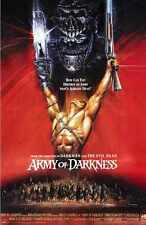 Army Of Darkness Poster 01 A2 Box Canvas Print