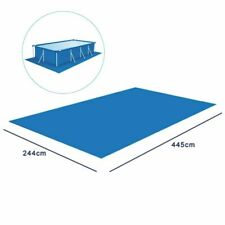 Swimming Pool Square Ground Cloth Lip Cover Dustproof Floor Mat For Outdoor Play