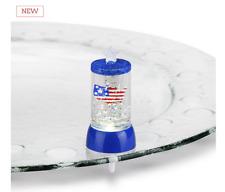 Glass Fusion Lit 4th of July Pop In 1.5 w x 3 h Demdaco