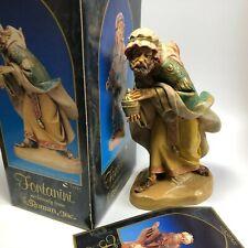 "1992 Fontanini Roman 7.5"" Scale Gaspar Wiseman 72814 Figure Nativity Christmas"