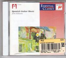 (ES829) John Williams, Spanish Guitar Music - 1990 CD