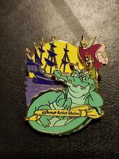 Disney Pin Artist Choice Peter Pan Captain Hook Tinkerbell Croc Artist Proof AP