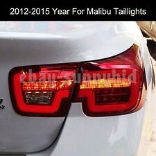 For Chevrolet Malibu LED Strip Tail Lights Rear Lamps2012 to 2014 Year Red WH