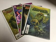 Man-Thing 2-5 Nm Near Mint Marvel Comics