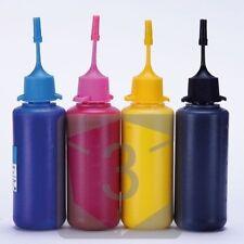 4x 50ML Pigment ink for Epson SX510W SX515W SX600FW SX610FW Refillable Cartridge