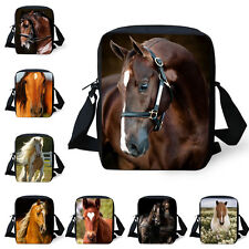 Horse Shoulder Bag Casual Messenger Purse Small Hobo Bag Handbag Purse Satchel