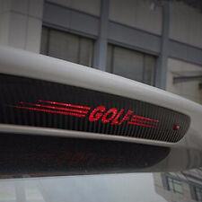 Luz de freno barra de pegatinas carbon decoración sticker VW volkswagen golf 6 7