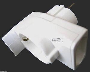 Kombi Duplex Stecker passend für Rollo Tron für elektrische Gurtwickler/Jalousie