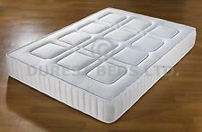BRAND NEW  3FTSINGLE  SQUARE QUILTED MEMORY FOAM SPRUNG MATTRESS