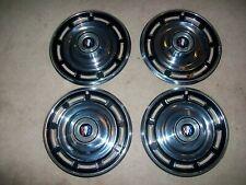 "1965 1966 Buick Skylark Special LeSabre 4-14"" HUBCAPS 65 66 MINT CONDITION/RARE!"