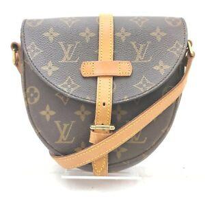 Louis Vuitton Shoulder Bag Chantilly PM M40646 Browns Monogram 708224