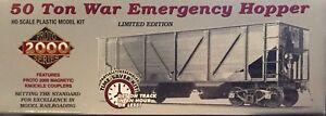 SRR Southern Proto 2000 50 Ton War Emergency Hopper Kits, NIB, 3 Road # Avail