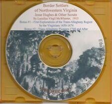 Border Settlers of Northwestern Virginia - VA Genealogy