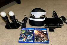 PLAYSTATION VR PSVR WITH CONTROLLERS GAME