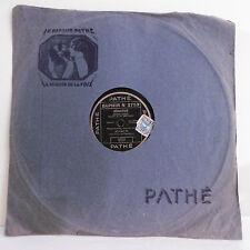 78T SAPHIR -JOVATTI  Disque Phonographe SEDUCTION - AMOUR Chanté PATHE 3753 RARE