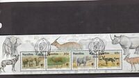 nambia  nature used foundation stamps sheets  Ref 10278