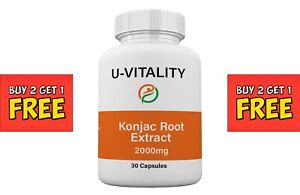 Buy 2 get 1 FREE Best Naturals Konjac Glucomannan extract 2000mg