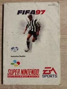 Fifa 97 super nintendo Nes Snes ( Manual Only)