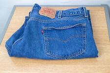 Levi Strauss Levi's 501xx Button Fly 46 (42 X 30) Mens Denim Jeans Irregular Med