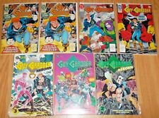 GUY GARDNER REBORN #1-3 FIRST ISSUE ACTION OCT 92 (2) DEC 92 NOV 92 DEAD RINGER