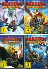 4 DVDs * DRAGONS-AUF ZU NEUEN UFERN (STAFFEL 3.1-3.4 / VOL. 1-4) SET # NEU OVP +