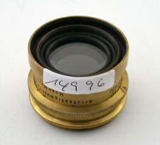 HUGO MEYER Aristostigmat brass lens Messing-Optik no.2 7,2/180 180mm F7,2 /19