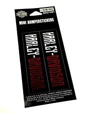 Harley Davidson ® Rockabilly Autocollants x2 BS27481 Neuf Authentique