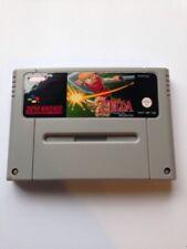 Legend Of Zelda Parallel Words SNES Super Nintendo Video Game PAL version