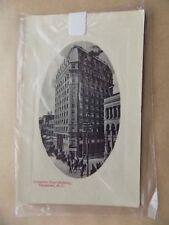 Dominion Trust Building Vancouver Canada Old Postcard Writing on back Unposted