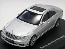 AUTOart 56206 Mercedes-Benz S63 AMG Silver 1:43