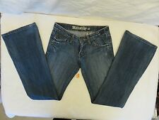 Monarchy Women's Size 25 Blue Stretch Jeans 98% Cotton 2% Spandex