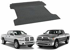 Rubber BED MAT 2002-2017 Dodge RAM 1500 8' FOOT LONG BOX Cargo Liner Protector