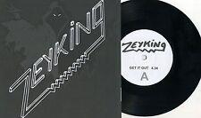"""Zeyking - Get It Out 7"""" Alien Force Brats 1980s Danish Denmark Heavy Metal Rock"""