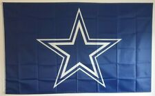 More details for american football flag- dallas cowboys flag (5ftx3ft)